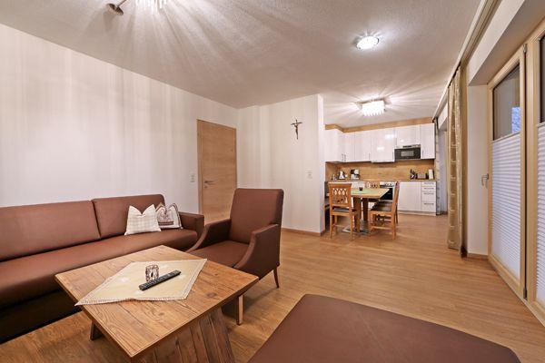Wohnraum im Apartement