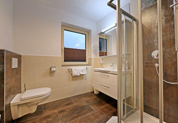 Badezimmer des ersten Zimmers