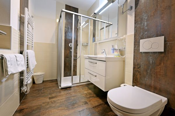 Badezimmer des dritten Zimmers